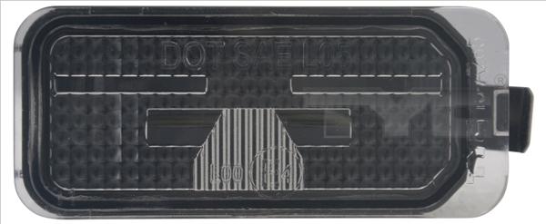 Eclairage de plaque TYC 15-0285-01-9 (X1)