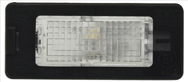 Eclairage de plaque TYC 15-0385-00-9 (X1)