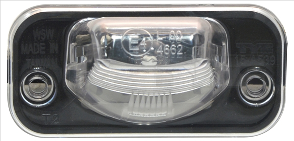 Eclairage de plaque TYC 15-0539-00-2 (X1)
