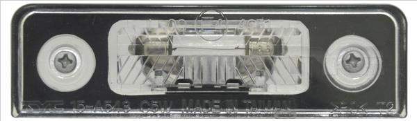 Eclairage de plaque TYC 15-0543-00-2 (X1)