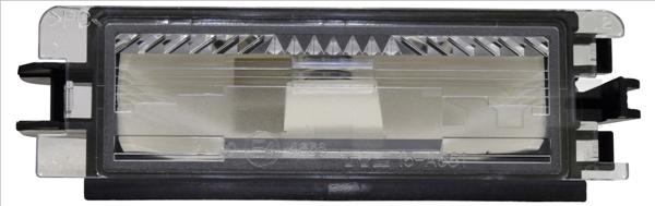 Eclairage de plaque TYC 15-0561-00-2 (X1)
