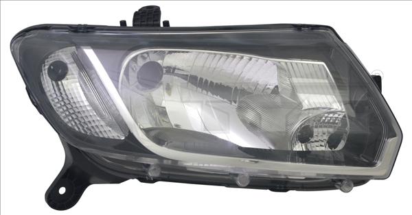 Optiques et phares TYC 20-14612-05-2 (X1)
