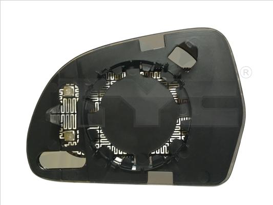Glace de retroviseur exterieur TYC 302-0072-1 (X1)
