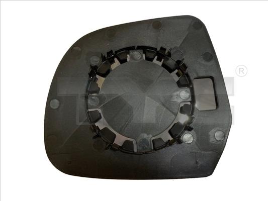 Glace de retroviseur exterieur TYC 328-0175-1 (X1)