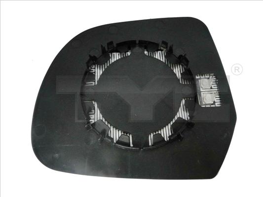 Glace de retroviseur exterieur TYC 328-0177-1 (X1)