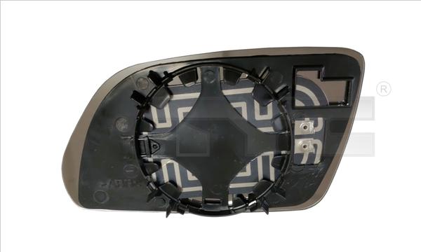 Glace de retroviseur exterieur TYC 332-0020-1 (X1)