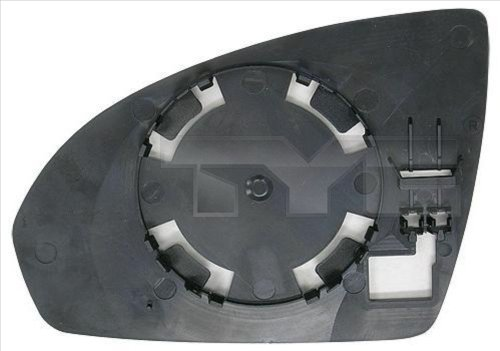 Glace de retroviseur exterieur TYC 333-0005-1 (X1)