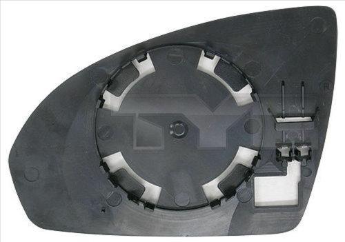 Glace de retroviseur exterieur TYC 333-0006-1 (X1)