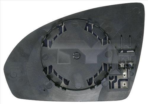 Glace de retroviseur exterieur TYC 333-0009-1 (X1)