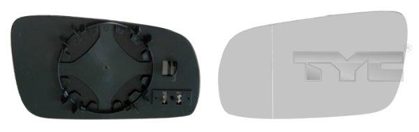Glace de retroviseur exterieur TYC 337-0038-1 (X1)