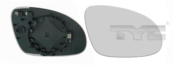 Glace de retroviseur exterieur TYC 337-0093-1 (X1)