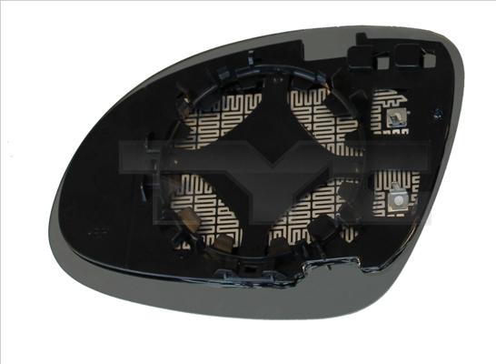 Glace de retroviseur exterieur TYC 337-0170-1 (X1)