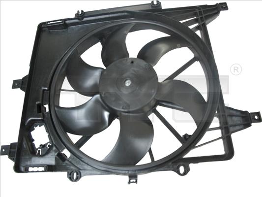 Ventilateur de radiateur TYC 828-0003 (X1)