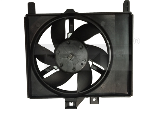 Ventilateur de radiateur TYC 833-0001 (X1)