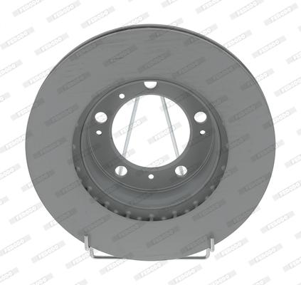 Disque de frein avant FERODO DDF1293C-1 (X1)