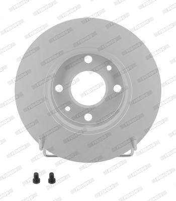 Disque de frein FERODO DDF140C (Jeu de 2)