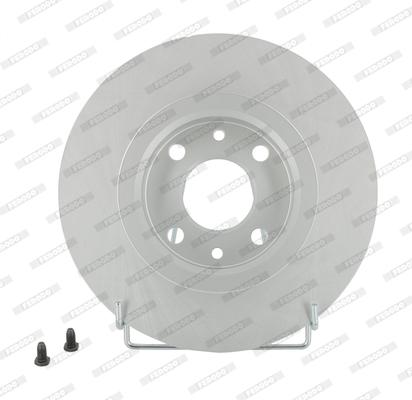 Disque de frein FERODO DDF141C (Jeu de 2)