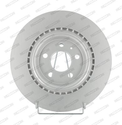 Disque de frein arriere FERODO DDF2383C (Jeu de 2)