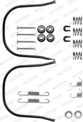 Kit de montage machoires de frein FERODO FBA112 (X1)