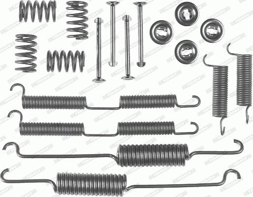 Kit de montage machoires de frein FERODO FBA150 (X1)
