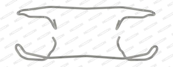 Kit de montage plaquettes de frein FERODO FBA502 (X1)