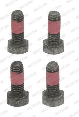 Kit de montage plaquettes de frein FERODO FBA541 (X1)