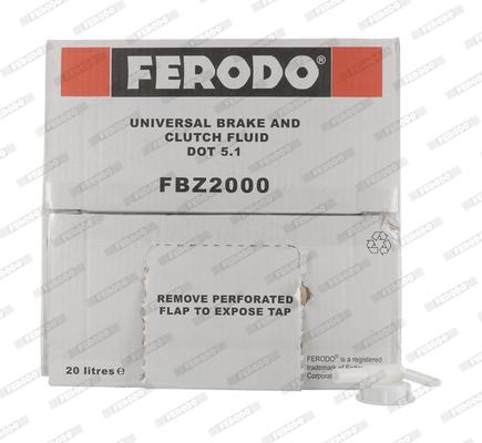 Liquide de frein FERODO FBZ2000 (X1)