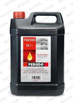 Liquide de frein FERODO FBZ500 (X1)