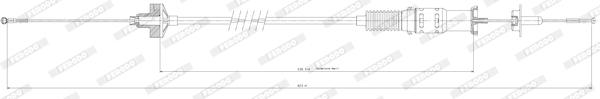 Cable d'embrayage FERODO FCC422039 (X1)