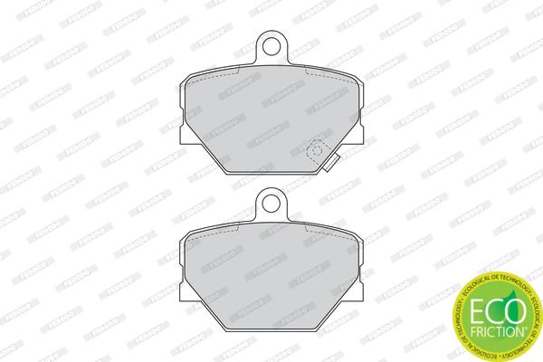 Plaquettes de frein avant FERODO FDB1162 (Jeu de 4)