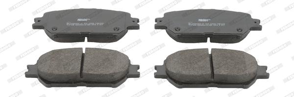 Plaquettes de frein avant FERODO FDB1620 (Jeu de 4)