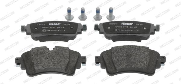 Plaquettes de frein FERODO FDB4617 (Jeu de 4)
