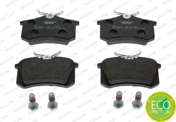 Plaquettes de frein FERODO FDB541 (Jeu de 4)