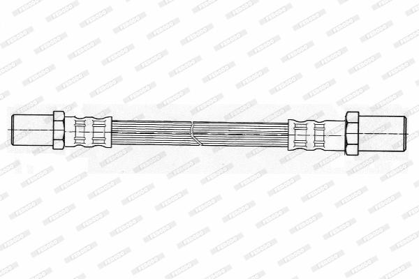 Flexible de frein (X1)