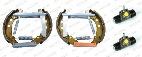 kit de frein arrière simple ou prémonté FERODO FMK002 (Jeu de 4)