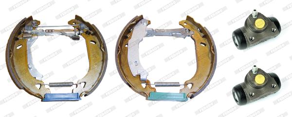 kit de frein arrière simple ou prémonté FERODO FMK117 (Jeu de 4)