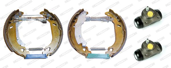 kit de frein arrière simple ou prémonté FERODO FMK210 (Jeu de 4)