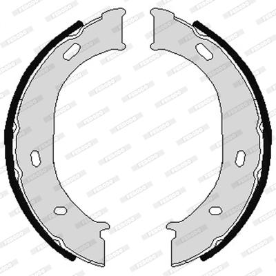 Jeu de mâchoires de frein de frein à main FERODO FSB624 (Jeu de 4)