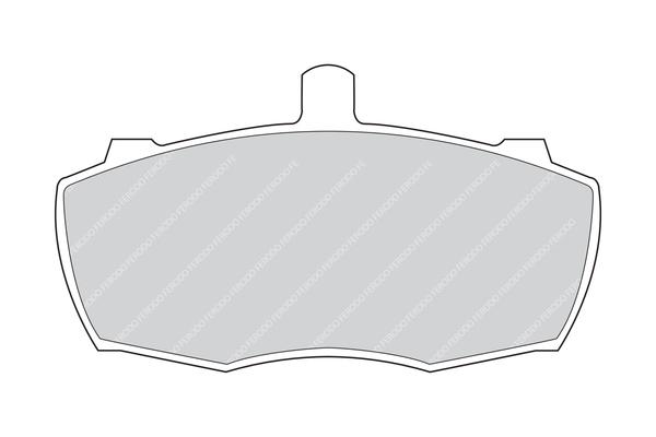 Plaquettes de frein avant FERODO FVR836 (Jeu de 4)