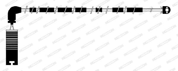 Temoin d'usure de frein FERODO FWI286 (X1)