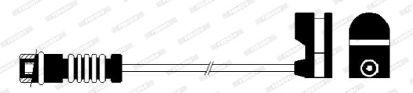 Temoin d'usure de frein FERODO FWI287 (X1)