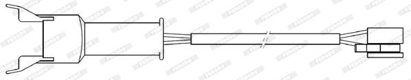 Temoin d'usure de frein FERODO FWI313 (Jeu de 2)