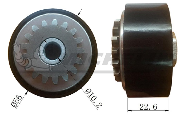 Galet tendeur accessoires MICHELIN EngineParts SMAMP03096 (X1)