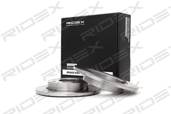 Disque de frein arriere RIDEX 82B0053 (X1)