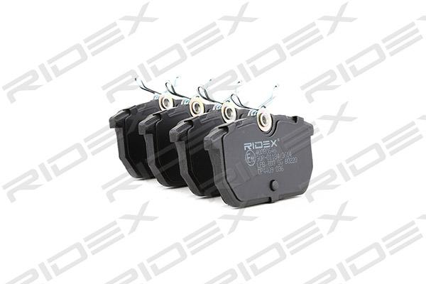 Plaquettes de frein arriere RIDEX 402B0646 (X1)