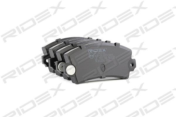 Plaquettes de frein RIDEX 402B0733 (X1)