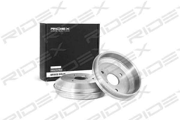 Tambour de frein arriere RIDEX 123B0047 (X1)