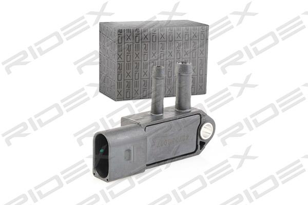 Capteur, pression des gaz échappement RIDEX 4272S0017 (X1)