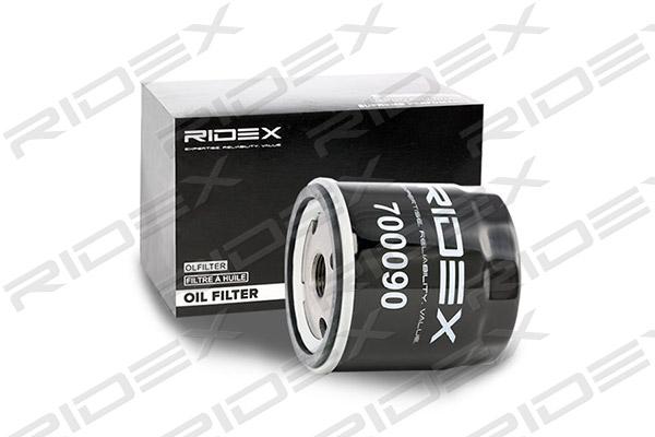 Filtre a huile RIDEX 7O0090 (X1)