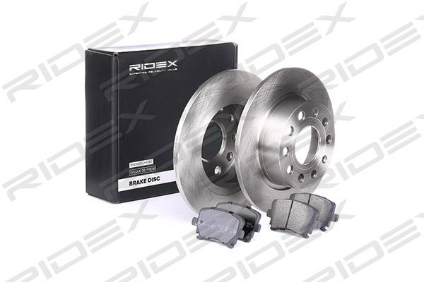 Freinage RIDEX 3405B0023 (X1)